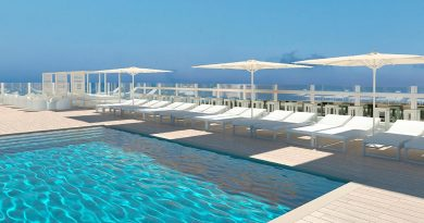 Rooftop Bar des Hotels Indico Rock an der Playa de Palma